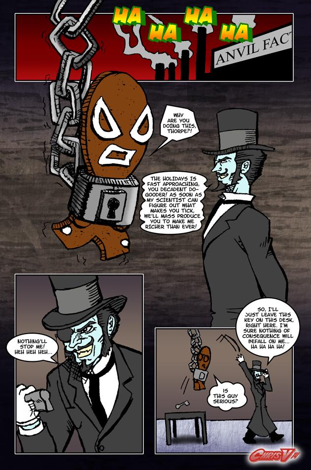 Gin Carlson vs. The Nineteenth-Century Industrialist